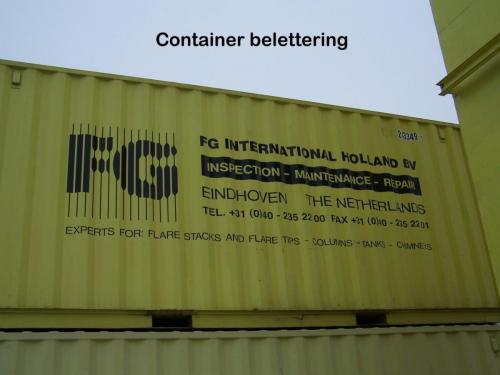 Pag 28 - container belettering
