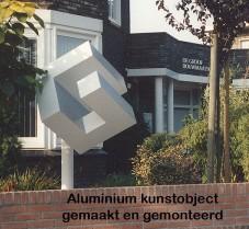 pag 20 - aluminium kunstobject Boschdijk Eindhoven