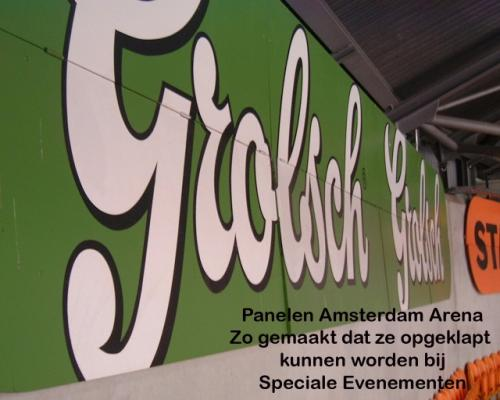 pag 20 - reclame panelen Amsterdam Arena - detail