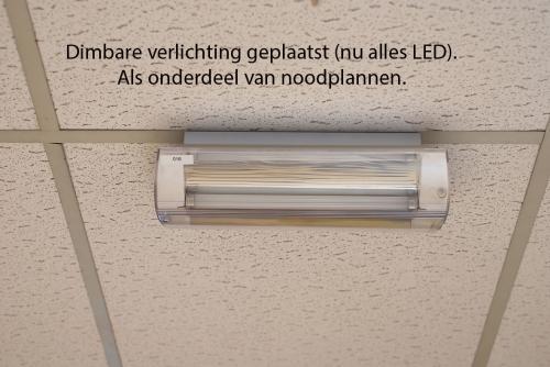 Pag 12 - Dimbare verlichting geplaatst (nu alles naar LED)