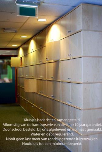 pag 14 - Kluisjes van Ikea op de scholen