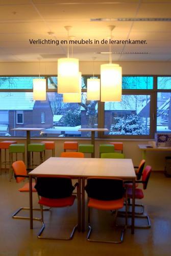 pag 14 - Verlichting en meubels in de lerarenkamer